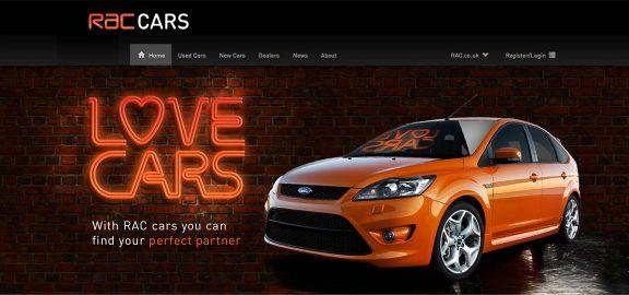 Rac Love Cars Case Study Milestone Creative