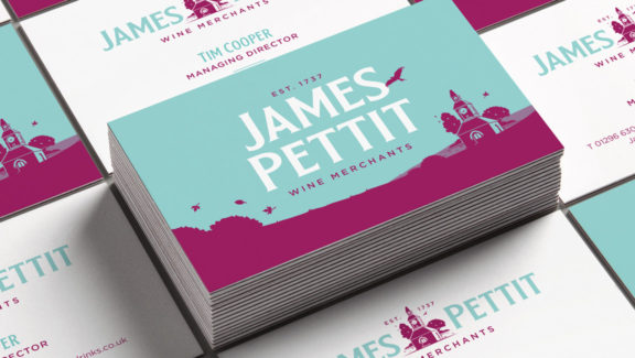 James Pettit business card