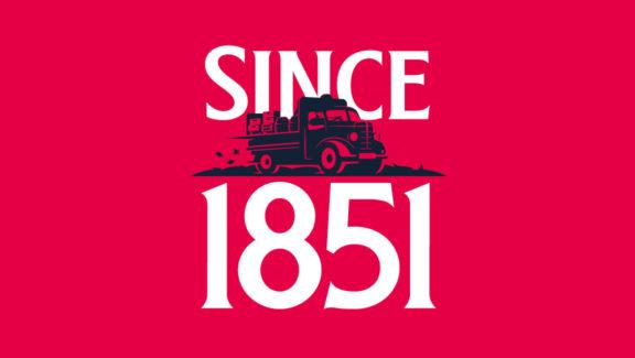 Since 1851 logo