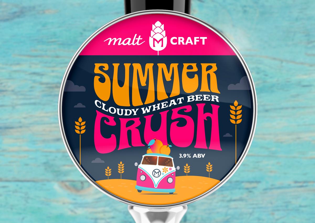 Summer Crush Beer Pump